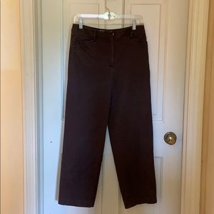 Vintage Talbots Chocolate Brown Pants Size 6